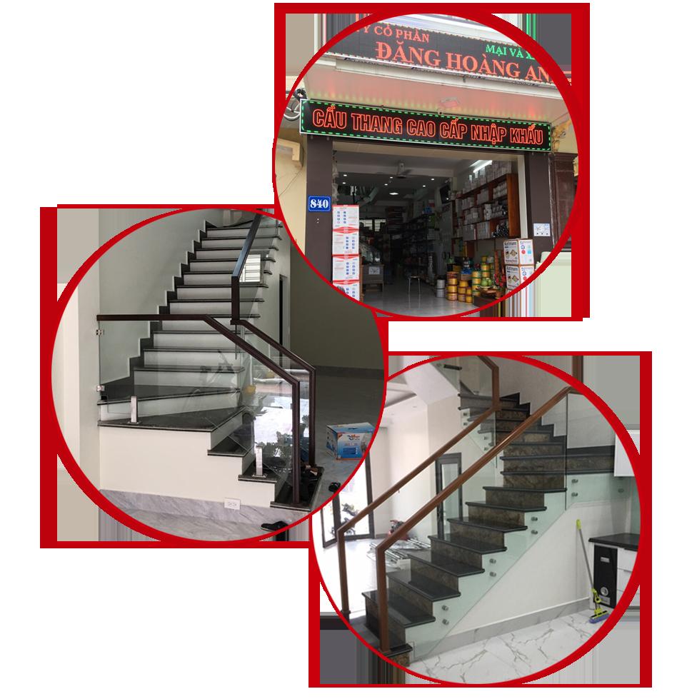 Thi công cầu thang kính, lan can kính, cabin kính, cửa kính, cửa tự động, cửa nhôm kính hàng đầu tại Hải Phòng